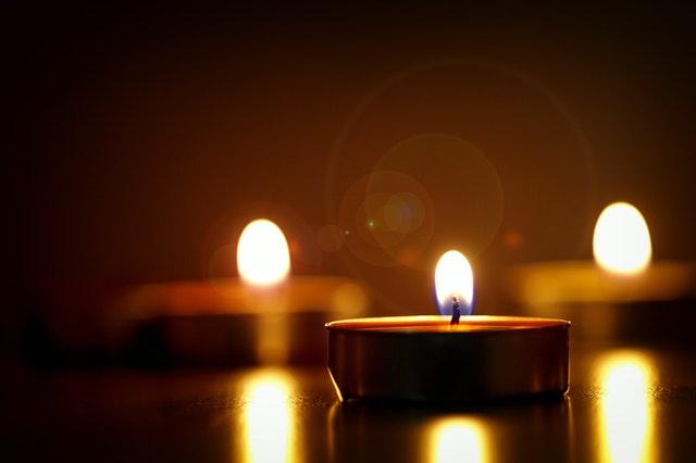 O Romantismo das velas
